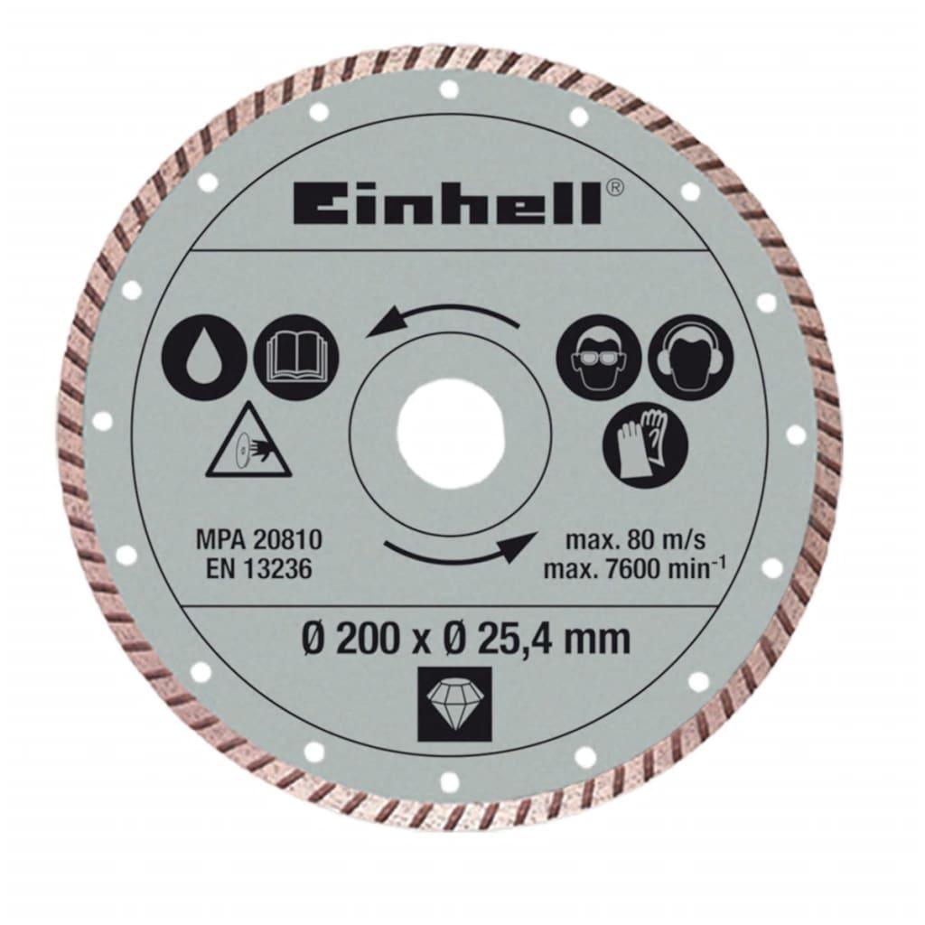 Afbeelding van Einhell turboslijpschijf 200 x 25,4 mm voor RT-TC 520 u en TE-TC 620 U