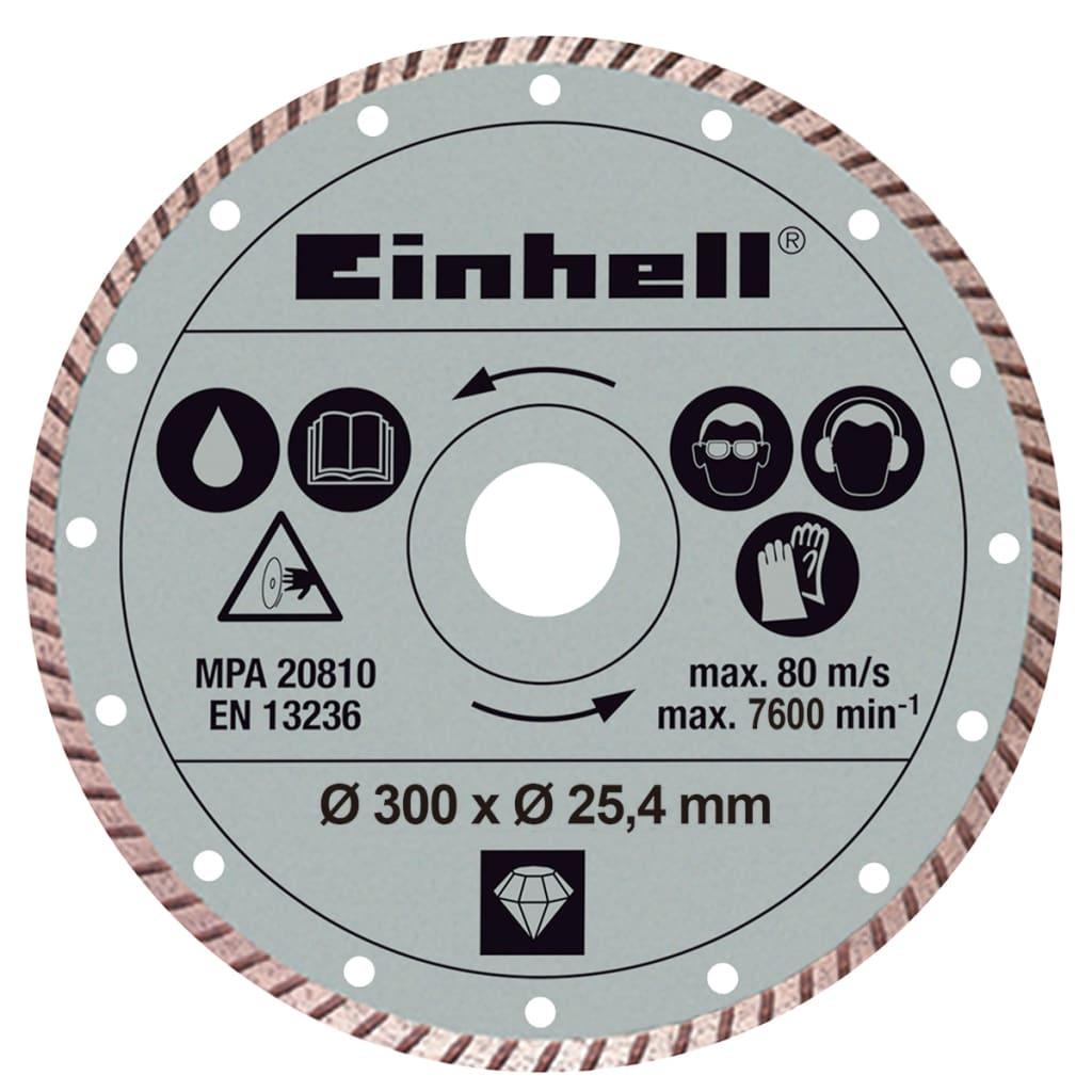 Afbeelding van Einhell turboslijpschijf 300 x 25,4 mm voor RT-SC 920 L