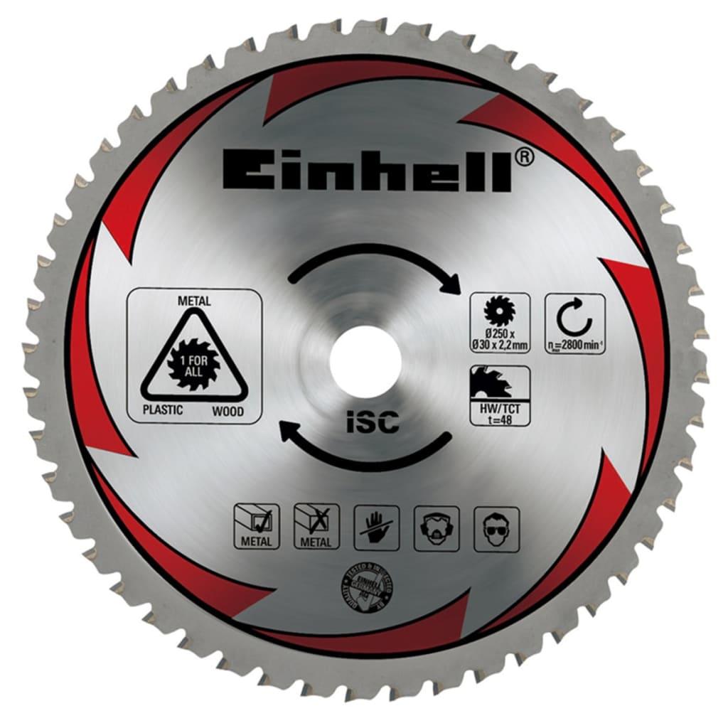 Einhell TCT Saw Blade 250 x 30 2.2 mm 48 T