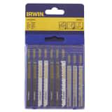 Set de 10 Lames de scies sauteuses de Irwin 10505817