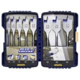 Set de 8 mèches plates Blue Groove 4X de Irwin 10506629