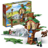 BanBao Animal Ground Tree House 6656