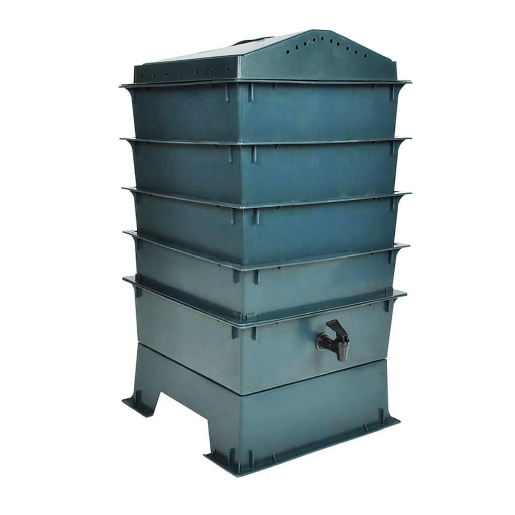 Maskkompost ekologisk kompostbehållare