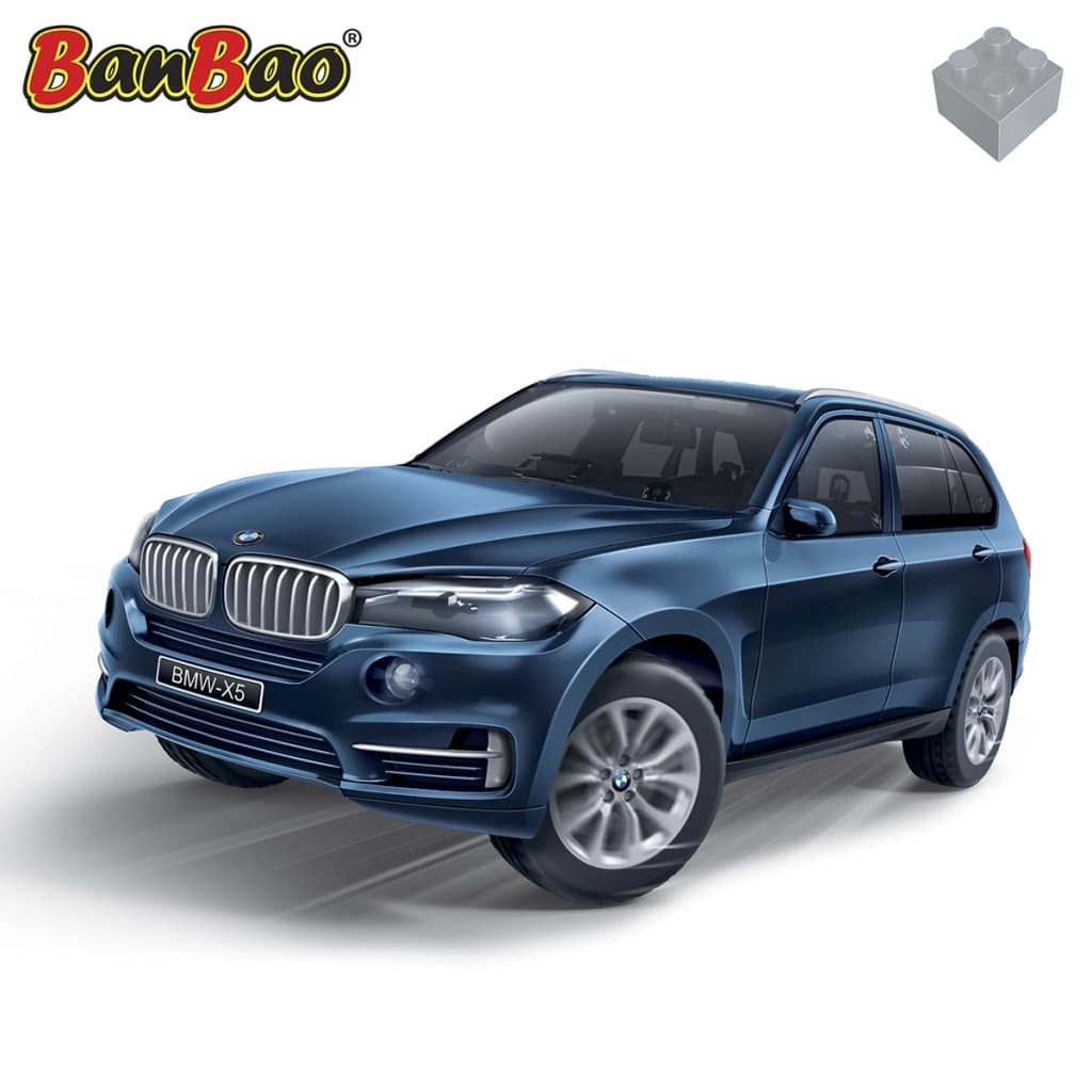 Bmw Xs5: BanBao BMW X5 Blue 6803-1