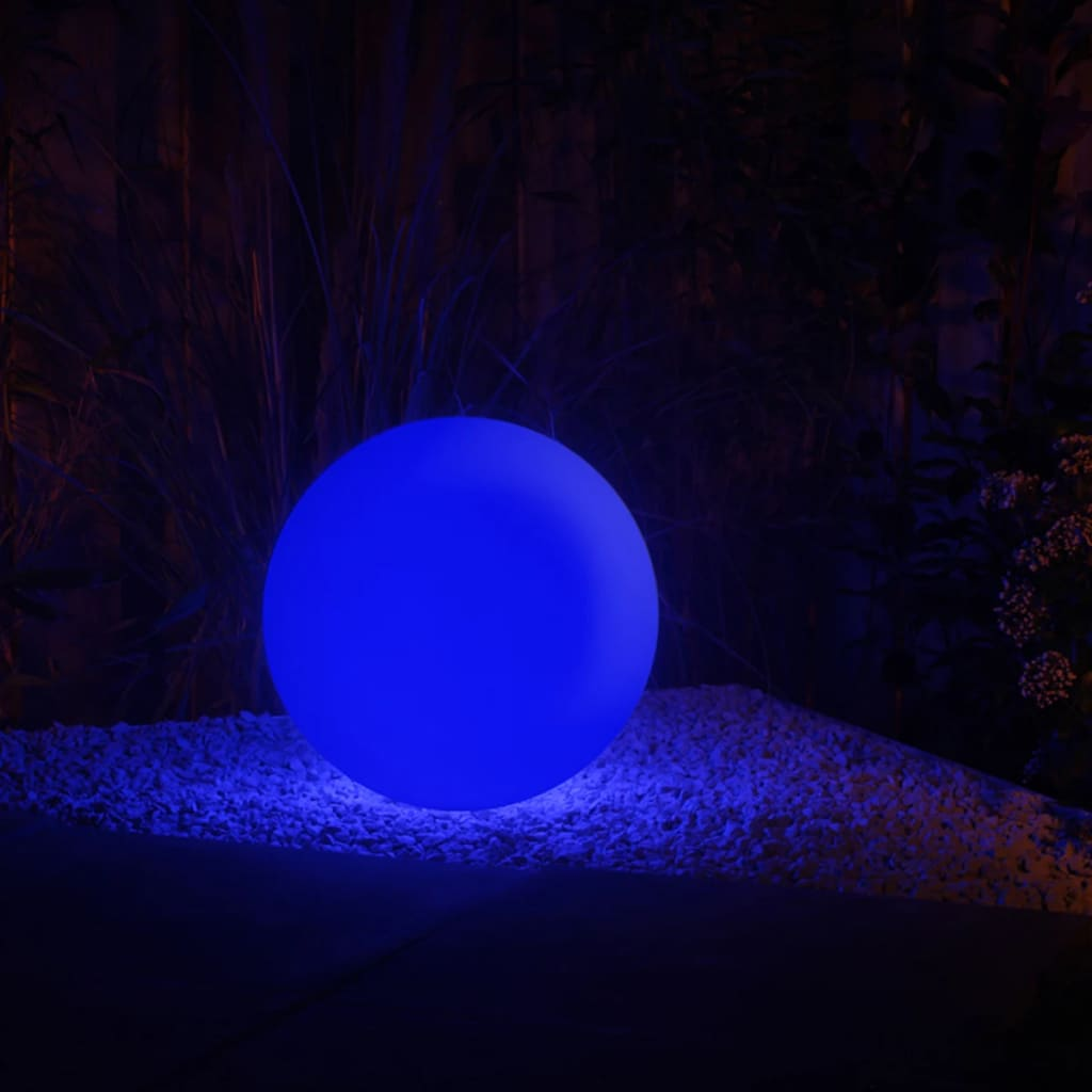 acheter smooz boule lumineuse led de jardin 40 2564451 pas cher. Black Bedroom Furniture Sets. Home Design Ideas