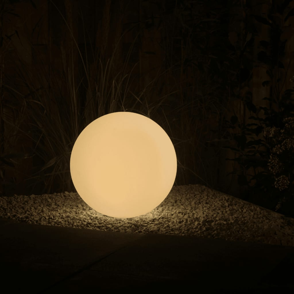 smooz boule lumineuse led de jardin 50 2565451. Black Bedroom Furniture Sets. Home Design Ideas