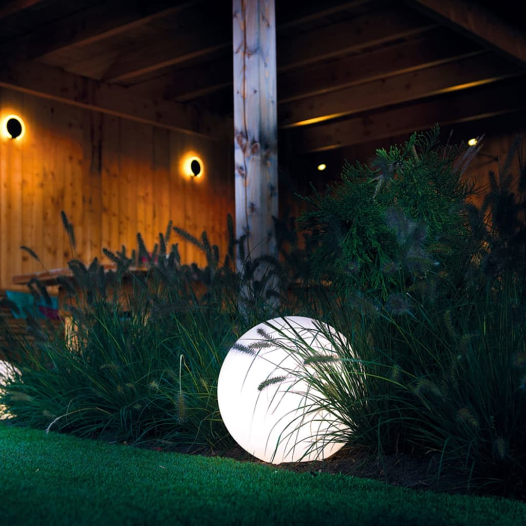 acheter smooz boule lumineuse led de jardin 50 2565451 pas cher. Black Bedroom Furniture Sets. Home Design Ideas