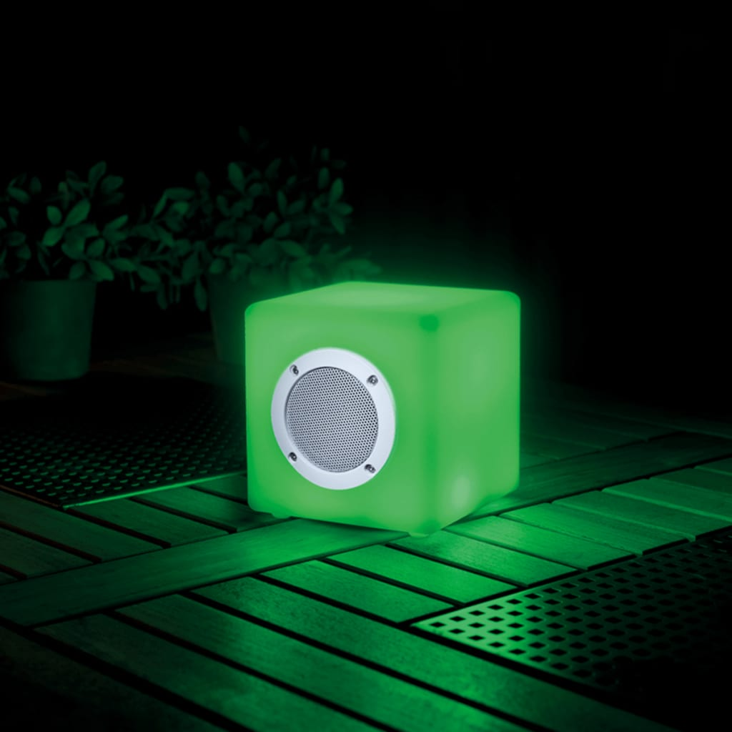 La boutique en ligne smooz cube musical avec clairage led for Eclairage led jardin