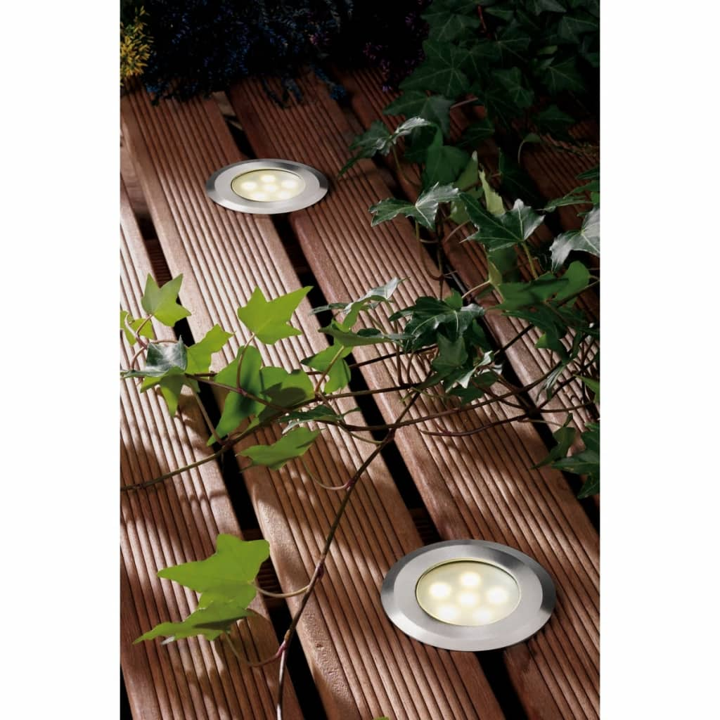 acheter garden lights lampe de terrasse led sirius en acier inoxydable 4039601 pas cher. Black Bedroom Furniture Sets. Home Design Ideas