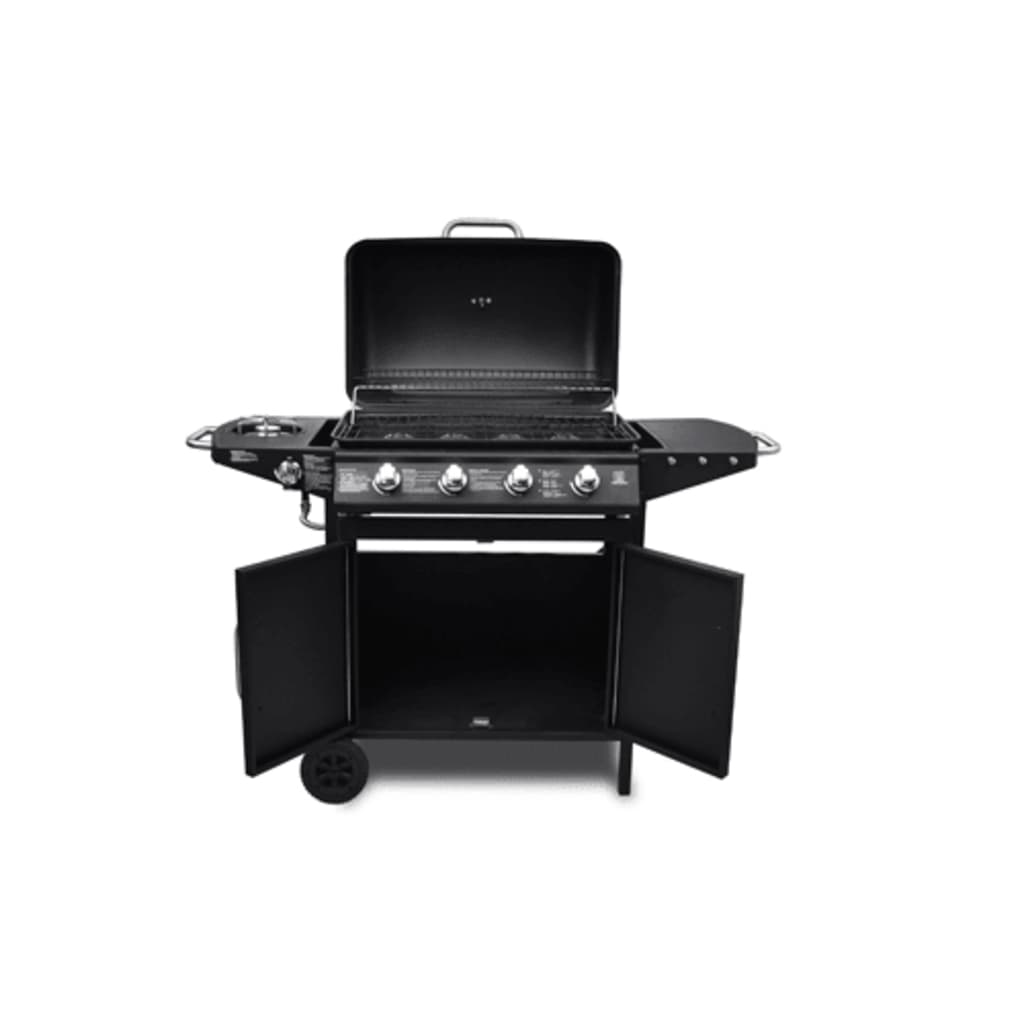 la boutique en ligne barbecue professionnel gaz 4 br leurs 1 plaque de cuisson. Black Bedroom Furniture Sets. Home Design Ideas