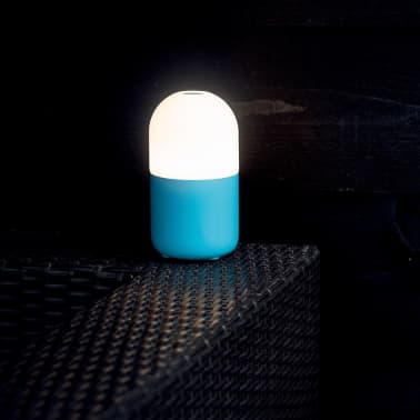 La boutique en ligne smooz lampe led de table de nuit bean bleue 4507001 vi - Lampe de table de nuit ...