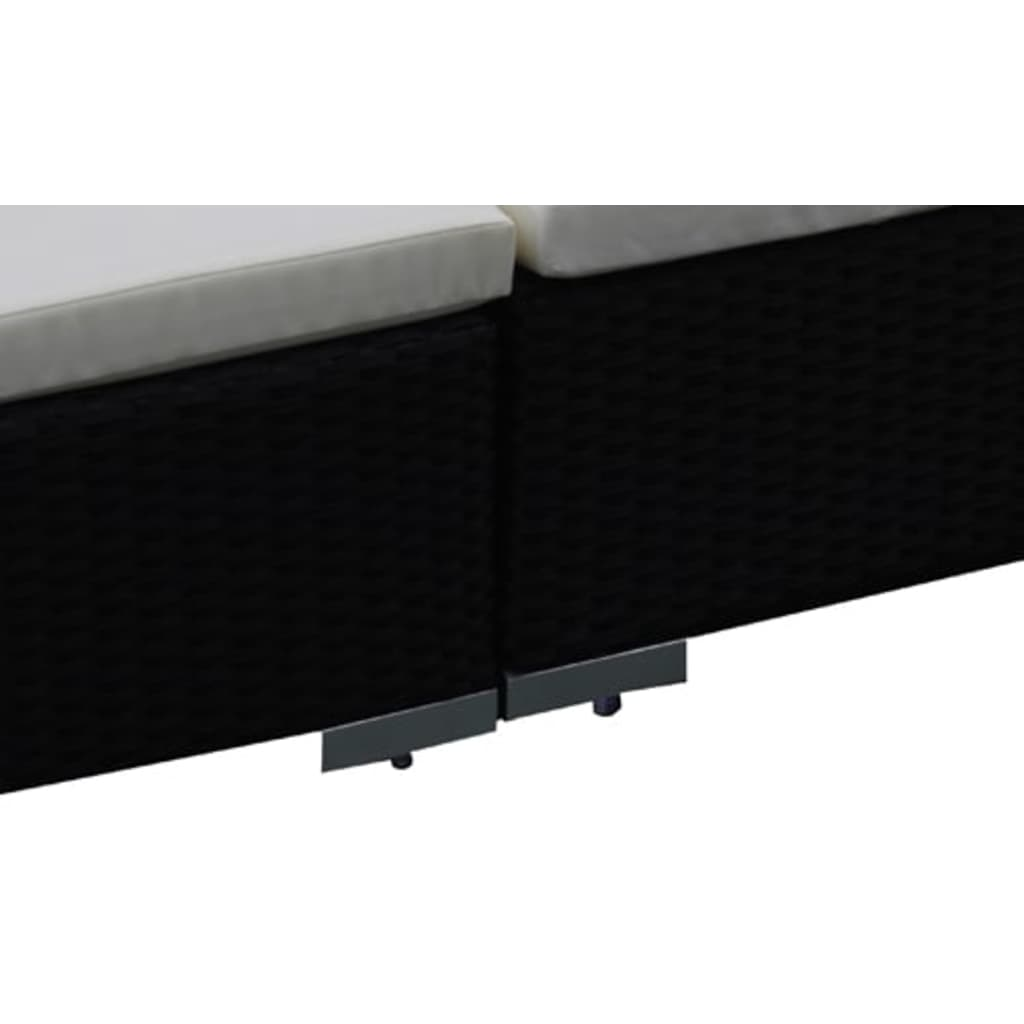 gartenm bel poly rattan lounge gartenset. Black Bedroom Furniture Sets. Home Design Ideas