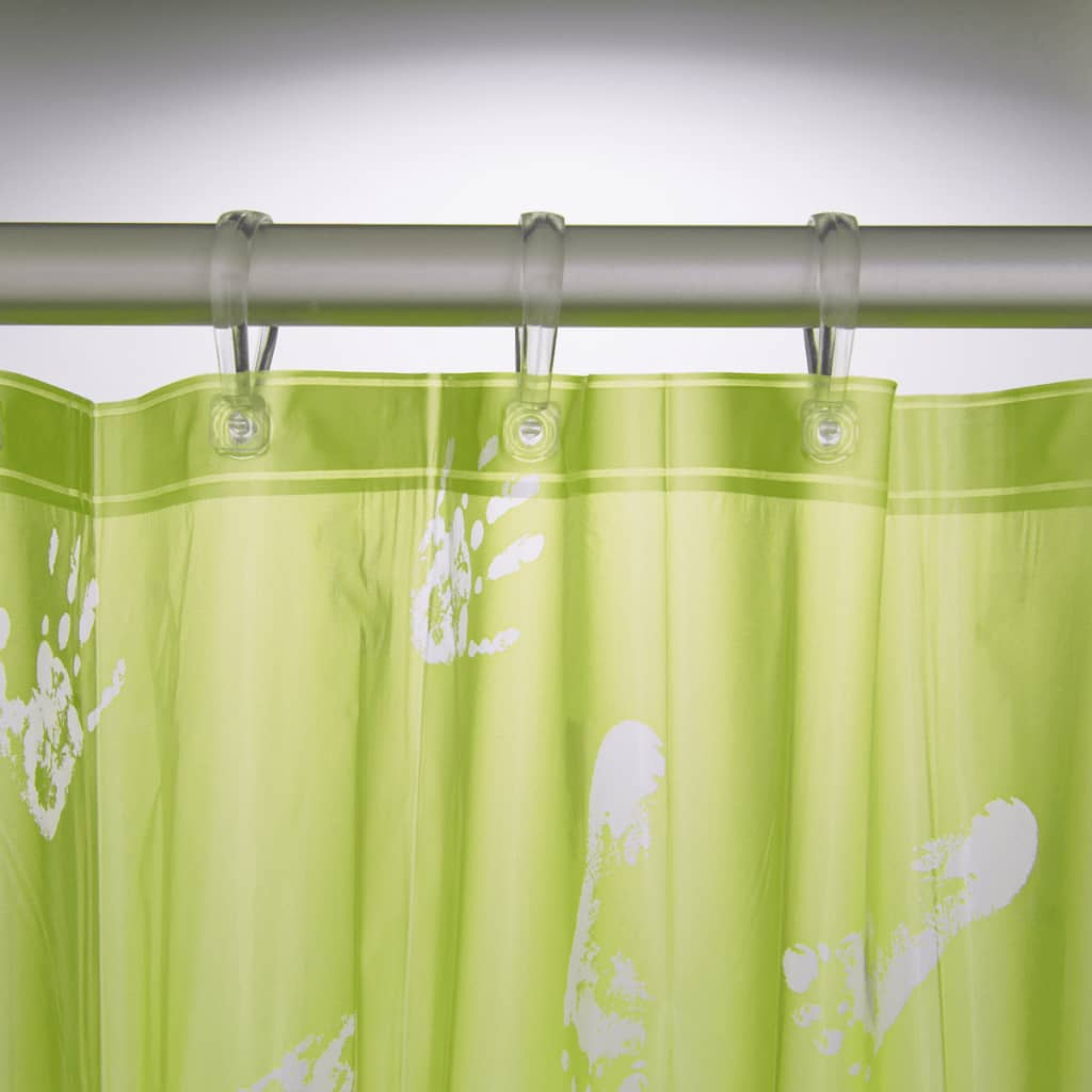 Sealskin-Bathroom-Shower-Curtain-Standard-Waterproof-Amy-180-cm-Lime-210701337