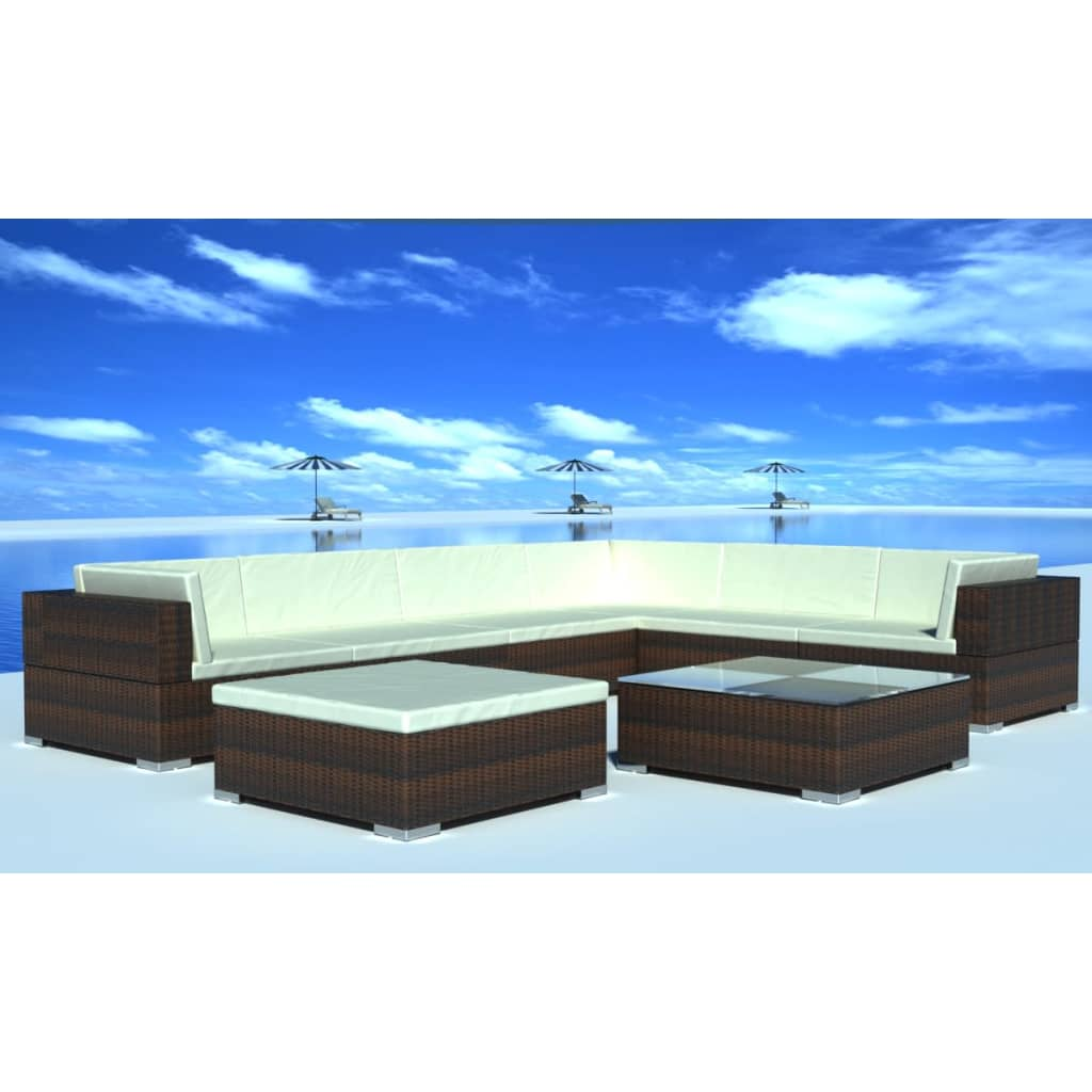 rattanm bel outdoor lounge neuesten design. Black Bedroom Furniture Sets. Home Design Ideas