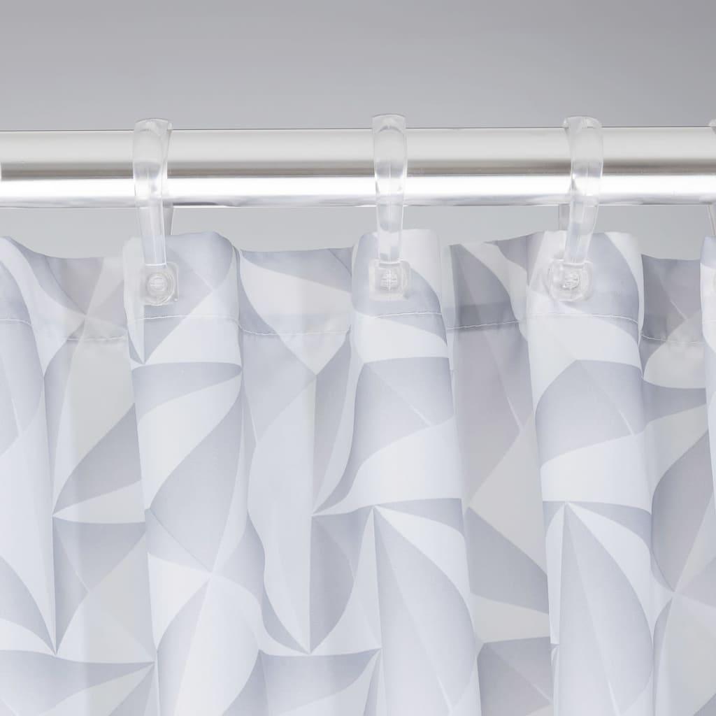 Badewanne Vorhang sealskin duschvorhang badewannenvorhang vorhang piega 180 cm grau