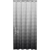 Sealskin Shower Curtain Speckles 180 cm Black 233601319