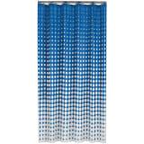 Sealskin douchegordijn Speckles 180 cm koningsblauw 233601323