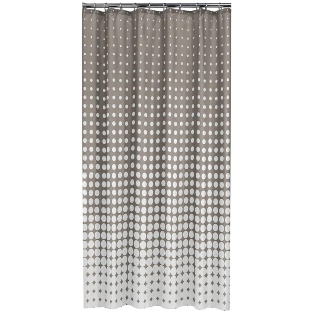 acheter rideau de douche speckles de sealskin 180 cm taupe. Black Bedroom Furniture Sets. Home Design Ideas