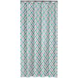 Sealskin cortina de ducha 180 cm modelo Diamonds 235201330(Color Aqua)