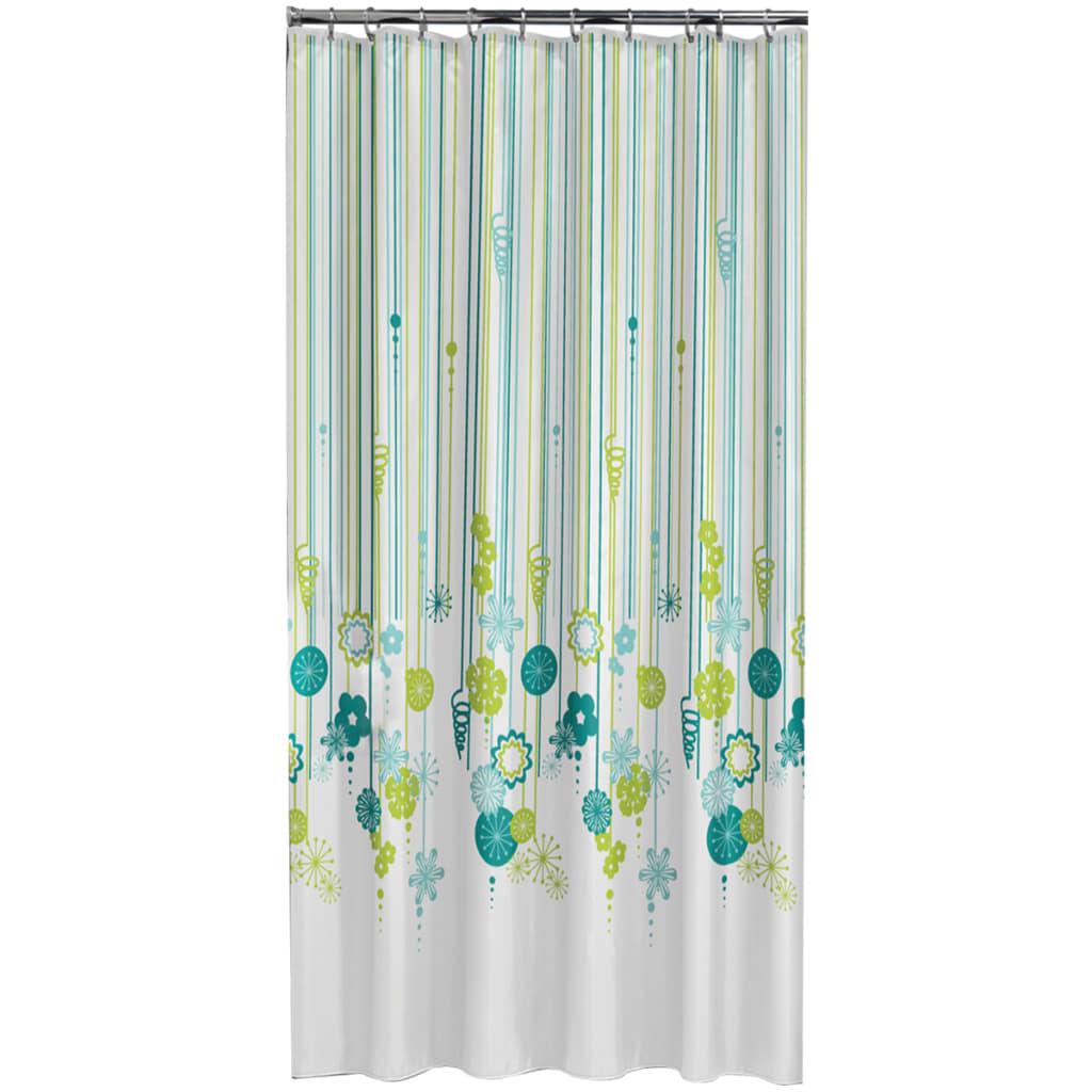 sealskin duschvorhang fiesta 180 cm gr n 235221326 g nstig kaufen. Black Bedroom Furniture Sets. Home Design Ideas