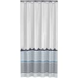 Sealskin Shower Curtain Marrakech 180 cm Blue 235281324