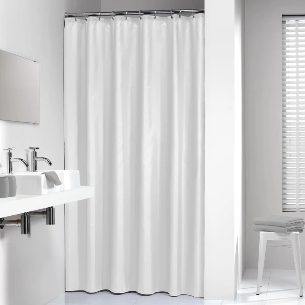 Cortina de ducha blanca sealskin modelo madeira 180 cm - Cortinas para ducha ...