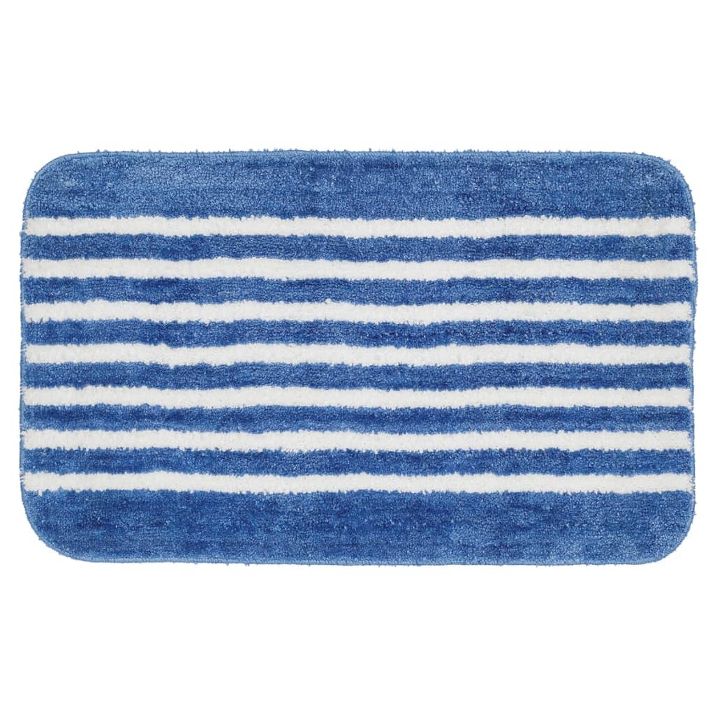 sealskin badteppich badematte strisce 50 x 80 cm blau 294385424 g nstig kaufen. Black Bedroom Furniture Sets. Home Design Ideas