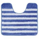 Sealskin WC-Vorleger WC-Matte Strisce 45 x 50 cm Blau 294388424
