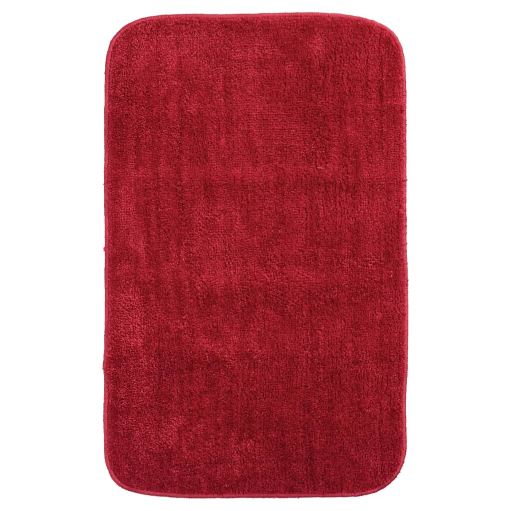acheter tapis de bain doux de sealskin 50 x 80 cm rouge 294425459 pas cher. Black Bedroom Furniture Sets. Home Design Ideas