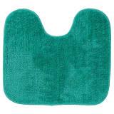 Alfombra de baño con pedestal Doux Sealskin verde 294428430, 45 x 50cm