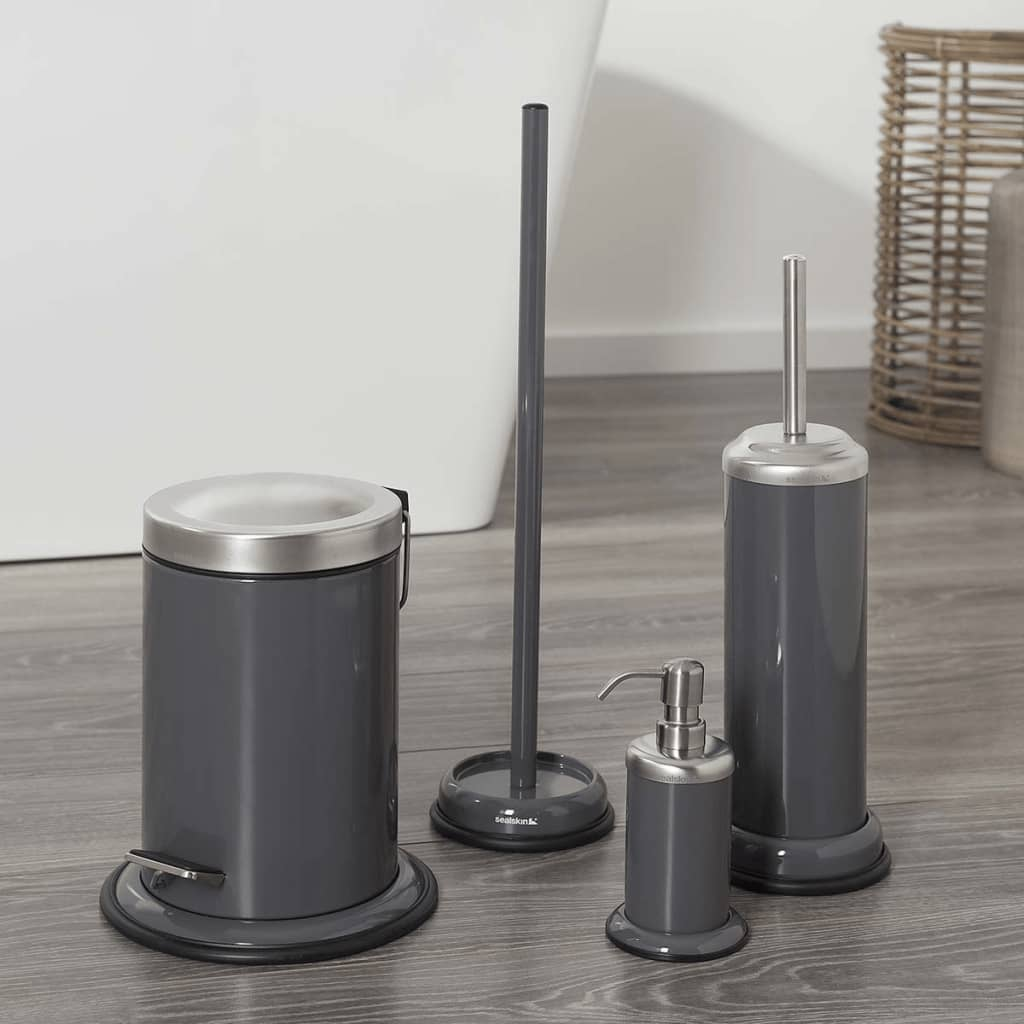 acheter sealskin porte rouleau papier toilette gris acero 361731814 pas cher. Black Bedroom Furniture Sets. Home Design Ideas