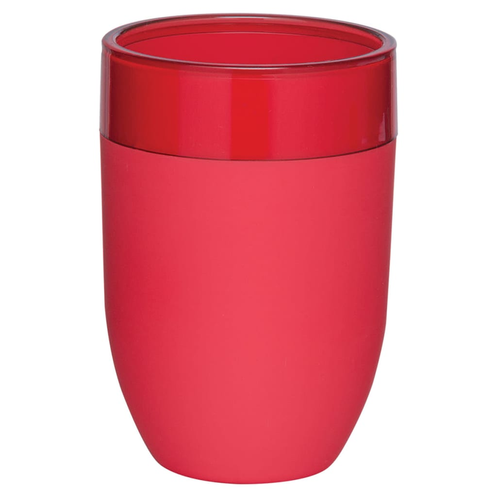 Cup Bloom Red Toothbrush Holder Bathroom Accessories Home Glossy