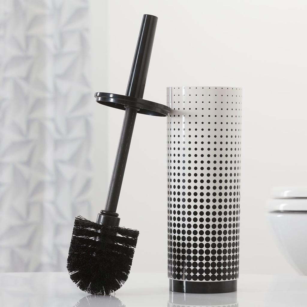 acheter brosse de toilette support noir speckles sealskin 361890519 pas cher. Black Bedroom Furniture Sets. Home Design Ideas