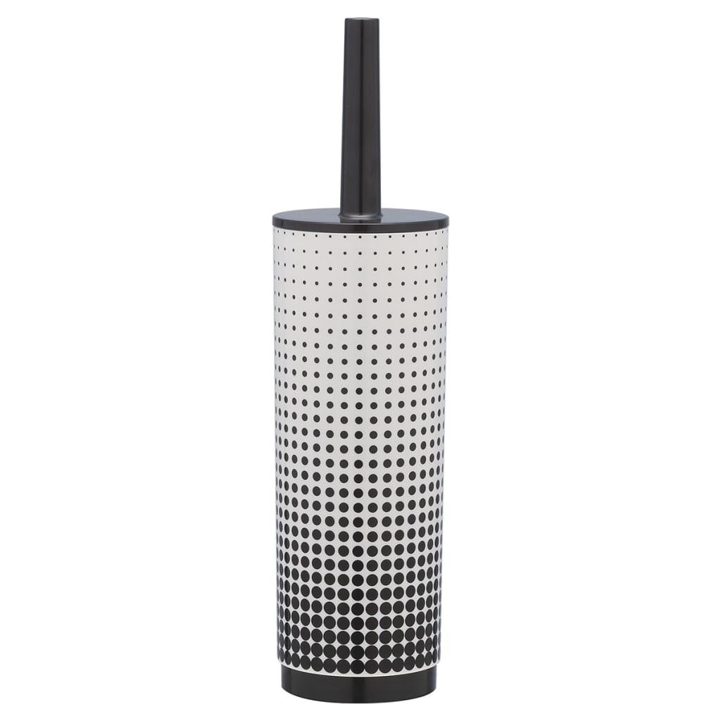 sealskin toilet brush holder speckles black 361890519. Black Bedroom Furniture Sets. Home Design Ideas