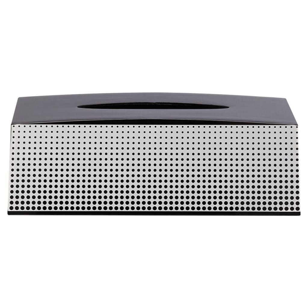 Afbeelding van Sealskin tissuebox Speckles zwart 361890819