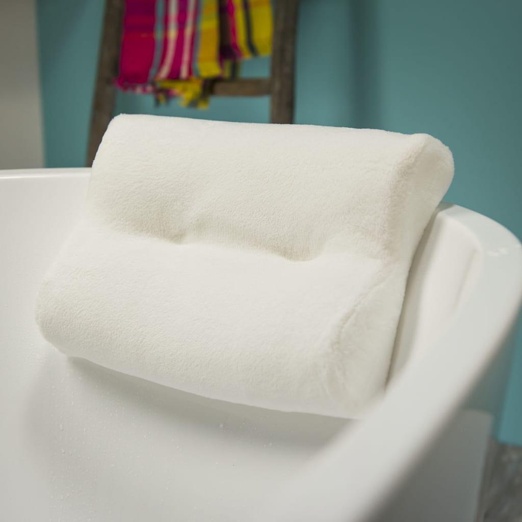 Sealskin Cuscino Poggiatesta Per Vasca Da Bagno poliestere 33 x 24cm Bianco