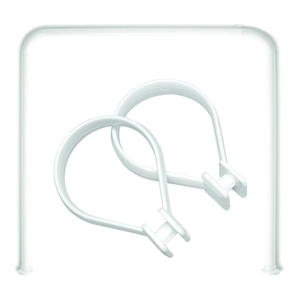 sealskin duschstange u form seallux 12 ringe wei 13276668910 g nstig kaufen. Black Bedroom Furniture Sets. Home Design Ideas