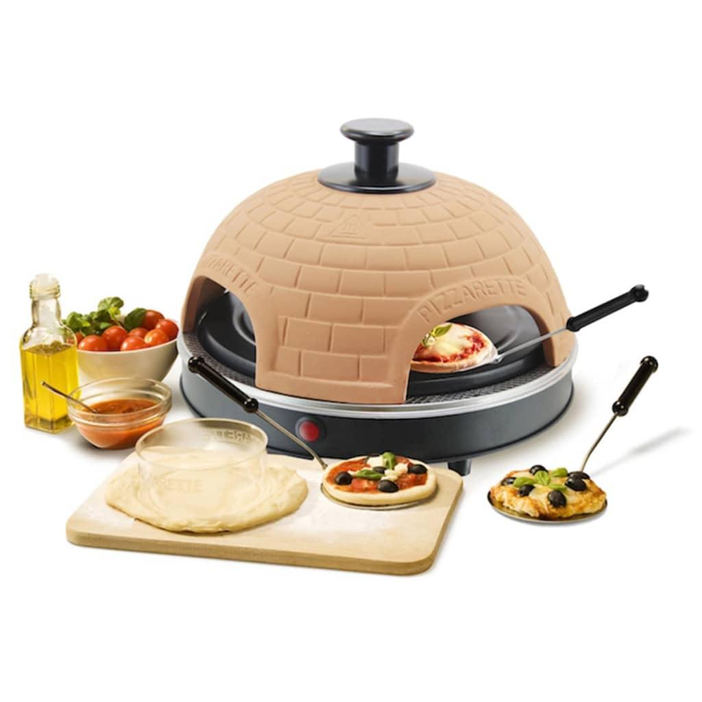 la boutique en ligne four mini pizza pizzarette pour 4. Black Bedroom Furniture Sets. Home Design Ideas