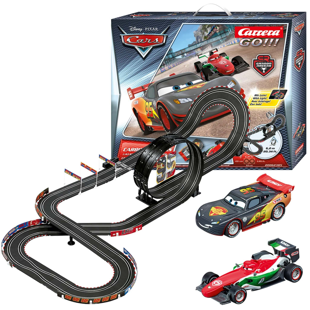 carrera go slot car race track cars carbon. Black Bedroom Furniture Sets. Home Design Ideas
