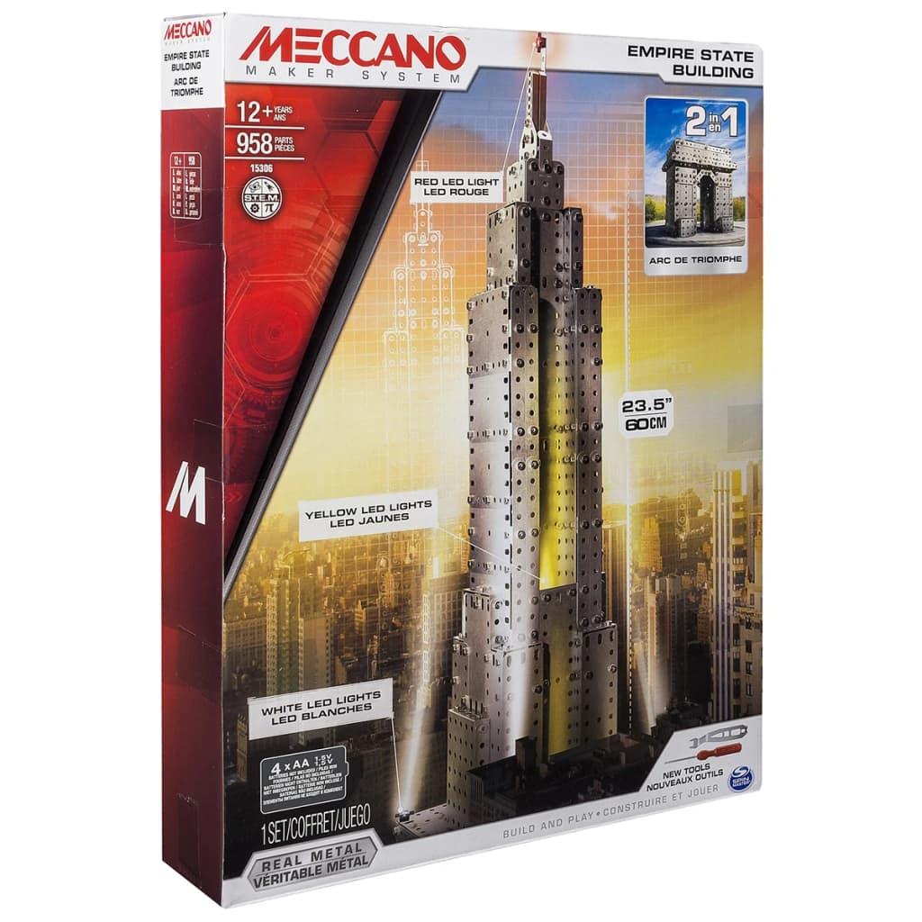 Meccano Construction Empire State Building 6024902