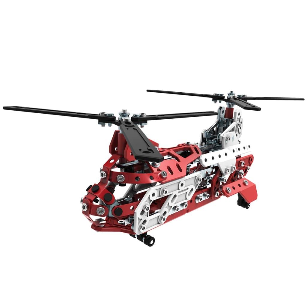 meccano aerial rescue instructions