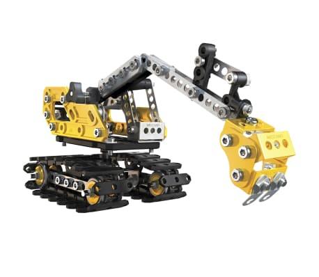 Meccano 2-in-1 Model Set Excavator and Bulldozer 6027036