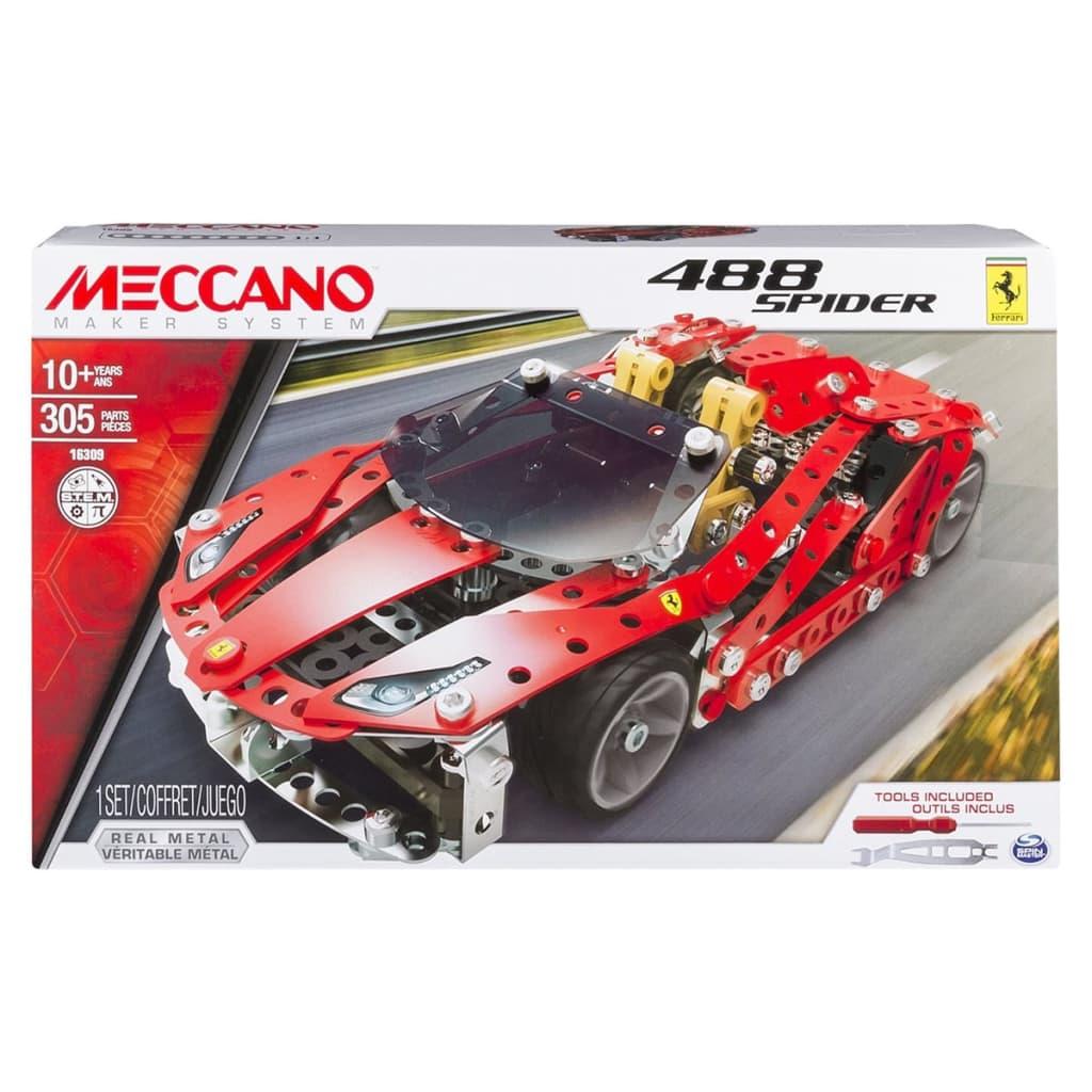 la boutique en ligne voiture en jouet meccano ferrari 488 spider 6028974. Black Bedroom Furniture Sets. Home Design Ideas