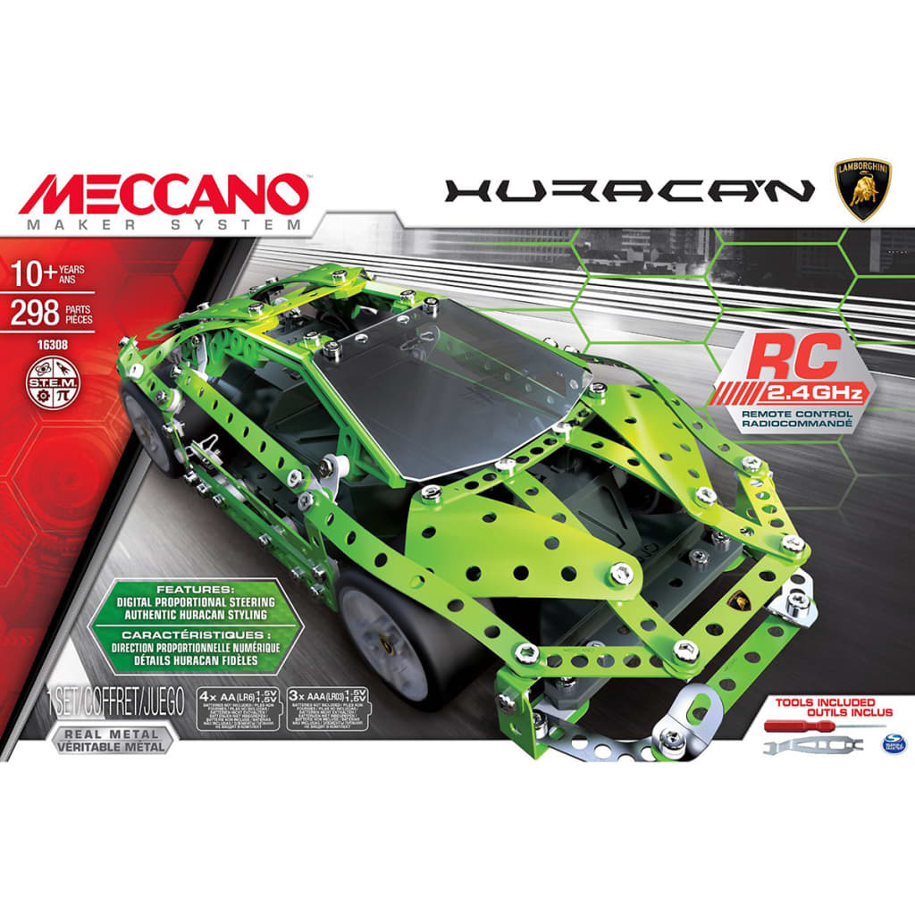 meccano lamborghini huracan funkgesteuertes spielzeugauto 6028405 g nstig kaufen. Black Bedroom Furniture Sets. Home Design Ideas