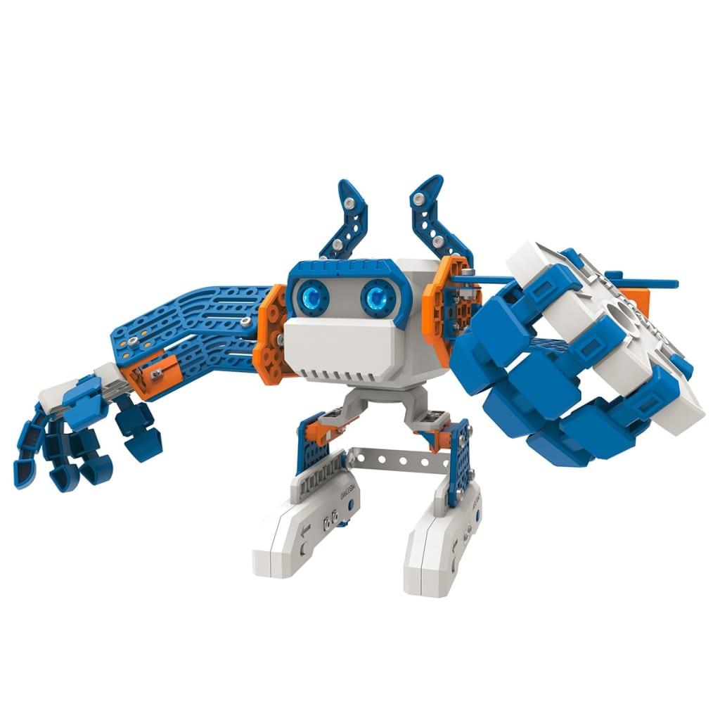 acheter jouet robot personnel bleu meccano micronoid basher 6031224 pas cher. Black Bedroom Furniture Sets. Home Design Ideas