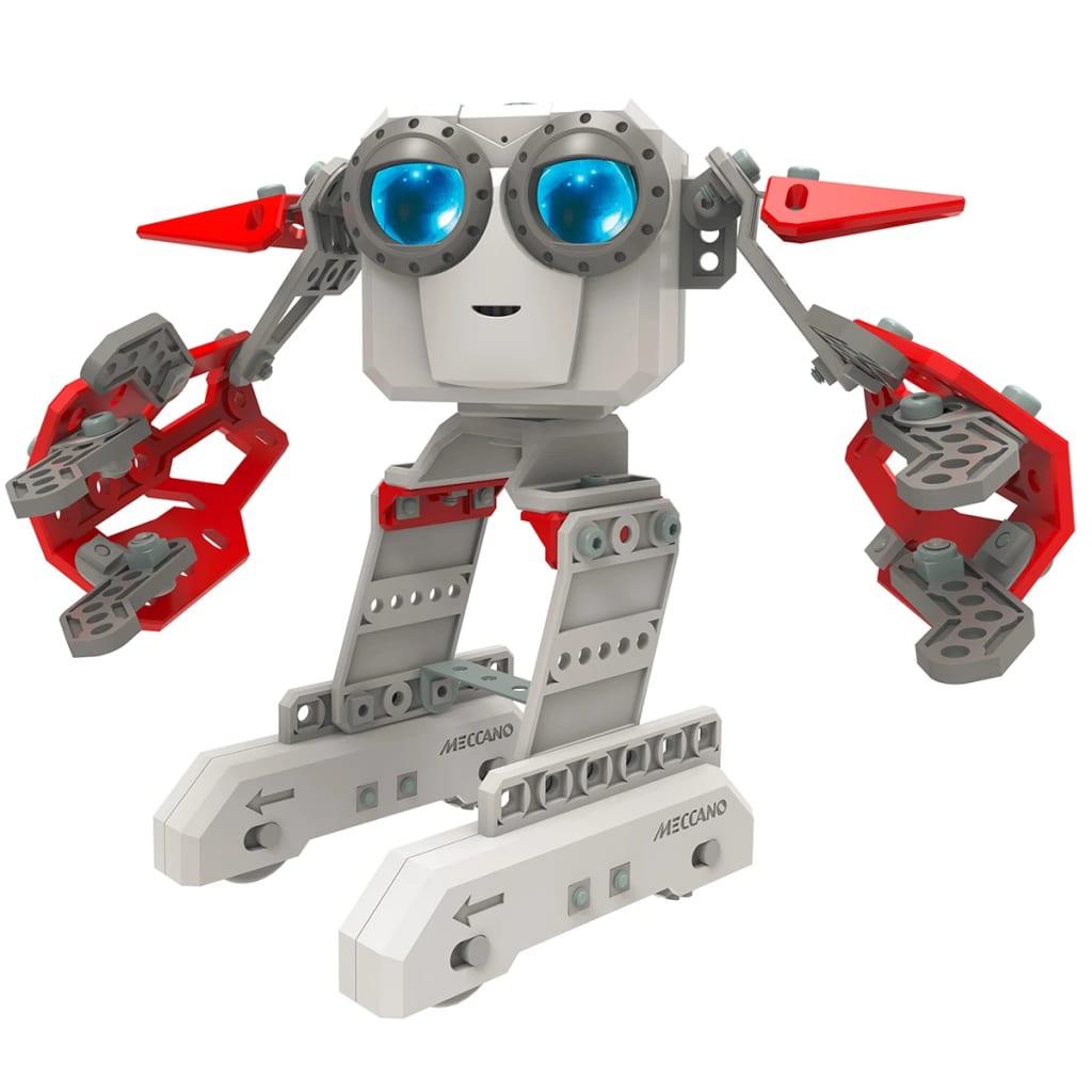 acheter jouet robot personnel douille rouge meccano micronoid 6031222 pas cher. Black Bedroom Furniture Sets. Home Design Ideas