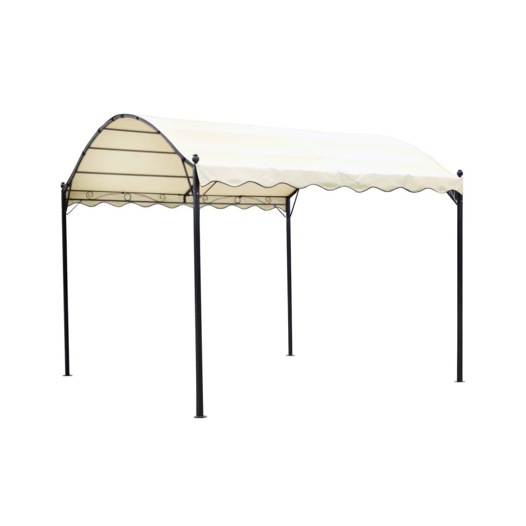 vidaxl gartenpavillon stoff cremewei g nstig kaufen. Black Bedroom Furniture Sets. Home Design Ideas
