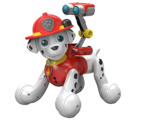 acheter zoomer robot chiot paw patrol marshall 603535 pas cher. Black Bedroom Furniture Sets. Home Design Ideas