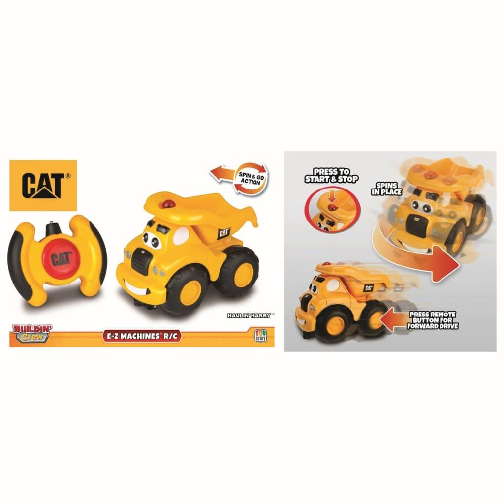 Caterpillar-Coche-de-Juguete-Teledirigido-80461-Haulin-Harry-Plastico-Amarillo miniatura 3
