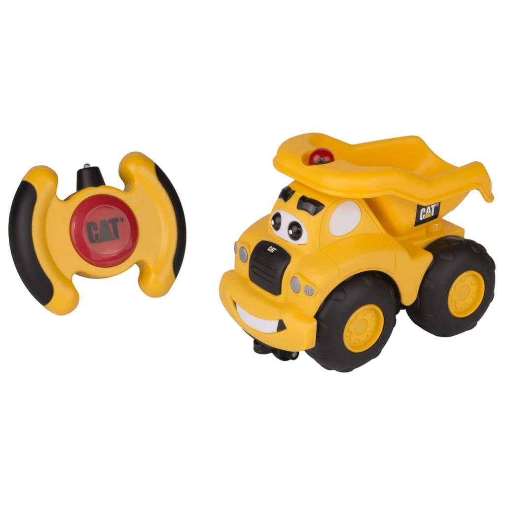 Caterpillar-Coche-de-Juguete-Teledirigido-80461-Haulin-Harry-Plastico-Amarillo